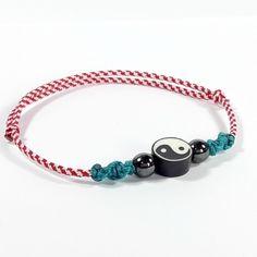 Μάρτης ανδρικός ''Yin & Yang'' Beaded Bracelets, Crochet, Jewelry, Crocheting, Jewellery Making, Jewlery, Jewelery, Pearl Bracelets, Jewerly