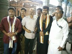hero-sharwanand-in-vizag-simhachalam-temple