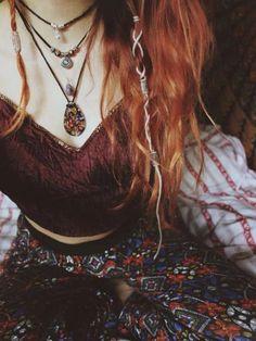 boho jewelry // bohemian jewelry // hippie jewelry // hippie chic // boho style … boho sieraden // Boheemse sieraden // hippie sieraden // hippie chic // sieraden in boho-stijl // bohostyle Boho Hippie, Boho Gypsy, Bohemian Jewelry, Bohemian Hair, Hippie Life, Tribal Jewelry, Gypsy Punk, Gypsy Hair, Dark Bohemian