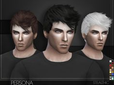 The Sims Resource: Stealthic - Persona • Sims 4 Downloads
