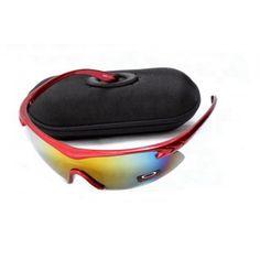 12afda1b01 Discount Oakley M Frame Sunglass Red Frame Yellow Lens   Cheap Oakleys  Sunglasses