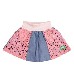 Fruit Dove Skirt, Oishi-m Clothing for kids, HiSummer  2017, www.oishi-m.com