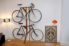Furniture for Bikes by London based Design studio Quarterre.