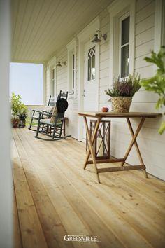 Lange Porch - genutzt als Eingangsveranda und Porch zum Klönen und Snacken