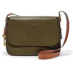 d700e7538cda Fossil Harper Large Saddle Crossbody Zb6760386 Color  Canteen ( 198) ❤  liked on Polyvore. Brown Crossbody PurseLeather CrossbodyCross Body ...