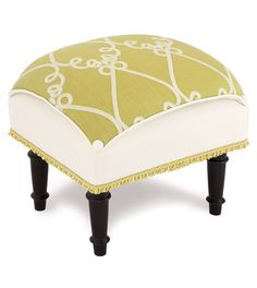 Etta Lime Pillow Top Stool from Eastern Accents Linen Bedding, Bedding Sets, Bed Linen, Luxury Home Decor, Diy Home Decor, Bright Decor, Eastern Accents, Bench With Storage, Storage Benches