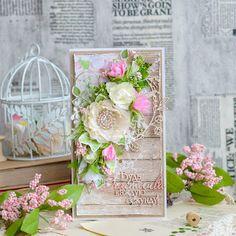 Творческие порывы...: Весенняя открыточка для хорошего настроения!