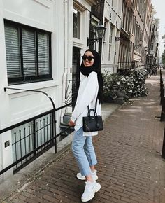 Learn how to Pull Off Sneakers With Hijab Outfit Learn how to Pull Off Sneakers With Hijab Outfit The post Learn how to Pull Off Sneakers With Hijab Outfit appeared first on Pintgram. Learn how to Pull Off Sneakers With Hijab Outfit Sneakers Outfit Summer, Sneaker Outfits Women, Summer Dress Outfits, Casual Summer Dresses, Trendy Dresses, Dress Casual, Hijab Casual, Hijab Chic, Casual Outfits