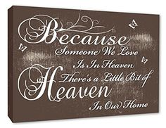 Wall Quotes, Cheryl, Our Love, A3, Wall Canvas, Heaven, Inspirational Quotes, Amazon, Words