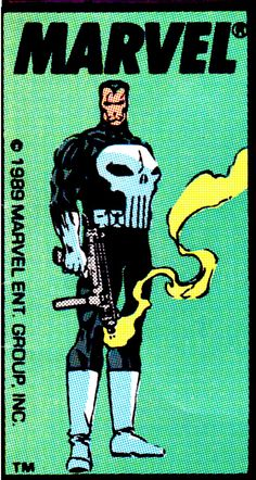 Marvel Comics corner box - the Punisher (1989)