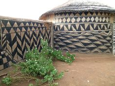 Tiebele_traditional_house_decoration_Burkina_Faso - Traditional homes in south-east Burkina Faso.