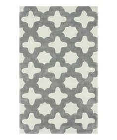 Another great find on #zulily! Slate Leah Rug #zulilyfinds