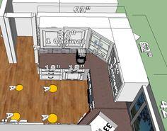 Kitchen - Left Side - Rough Sketch