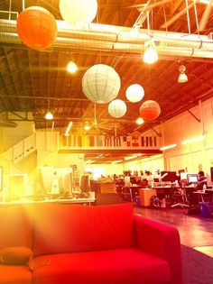 A Day at the Pinterest HQ: I took this with our new secret realtine camera app while waiting on the couches for Ben…  - photo from #treyratcliff Trey Ratcliff at http://www.StuckInCustoms.com - all images Creative Commons Noncommercial