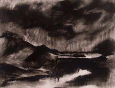 Jan Blencowe The Poetic Landscape: Expressive Charcoal Drawings Charcoal Art, Charcoal Drawings, Teaching Art, Teaching Ideas, Mark Making, Cool Art, Awesome Art, Image Search, Artwork