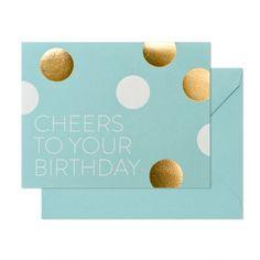 シュガーペーパー/シングルカード/Birthday Cheers