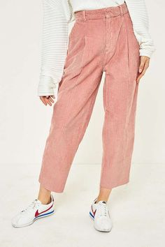 BDG corduroy cocoon trousers via Urban Outfitters.