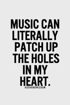 I love music it's my place to go hide Music Is My Escape, I Love Music, Music Is Life, Music Happy, Motivacional Quotes, Lyric Quotes, Qoutes, Kings Of Leon, Piano Man