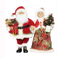 Mr. and Mrs. Claus -  available in store or online at www.generalstorestockyards.com