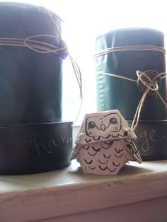 egg carton owls - super fun projects for kids