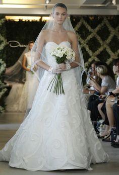Brides: Oscar De La Renta Wedding Dresses Spring 2013   Bridal Runway Shows   Wedding Dresses And Style   Brides.com   Wedding Dresses Style