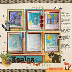 Kit: The Great Outdoors, Melissa Bennett, Sweet Shoppe Designs//Template: Storyteller Quinn, Just Jaimee, The Lilypad