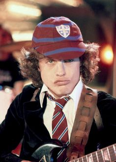 Angus Young....love me some ac/dc