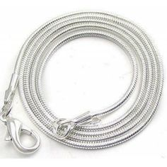 Snake chain 55cm 1mm  Dimensions: length: 55,0cm gauge: 1,00mm Weight ~ 5.05g ( 1 piece ) Metal : silver plated  1 package = 1 piece Jewelry Supplies, Silver Necklaces, 1 Piece, Silver Plate, Unique Jewelry, Bracelets, Chains, Handmade Gifts, Snake