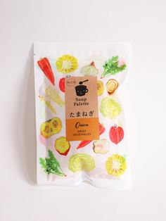 Japanese soup packaging. Kodama foods.