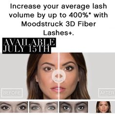 The enhanced Moodstruck 3D Fiber Lashes+ have two international patents-pending and are ophthalmologically tested and hypoallergenic