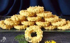 Kókuszos darálós karika recept fotóval