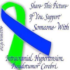 September is Intracranial Hypertension Awareness Month. #IH #IIH #Pseudotumor