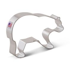 "Grizzly BEAR Cookie Cutter New 5.5"" by KitchenCrafts on Etsy https://www.etsy.com/listing/235839802/grizzly-bear-cookie-cutter-new-55"