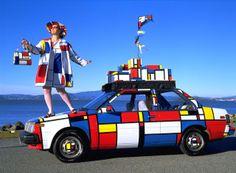 LET'S STAY: Piet Mondrian Inspired