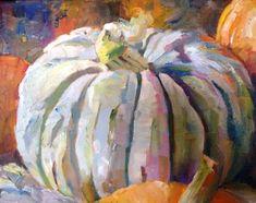 """Ghostly Pumpkin"" - Original Fine Art for Sale - © Scarlet Owl Studio"