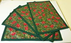 Christmas Placemat uploaded by Tania Simao on We Heart It Christmas Placemats, Image Sharing, We Heart It, Quilts, Blanket, Handmade, Crafts, Christmas Rugs, Hand Made