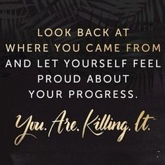 Don't discount your progress! #progress #journey #success #results #quotes #ahealthierlifestyle