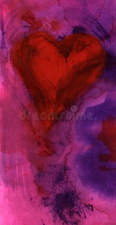 Illustration about Passion heart painting. Illustration of illustration, card, february - 350725 Boss Up Quotes, Heart Poster, Heart Painting, Wallpaper Backgrounds, Royalty Free Stock Photos, Logo Design, Hearts, Passion, Science