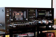 Technics B41 Technics Hifi, Audio Room, Tape Recorder, High End Audio, Dream Machine, Hifi Audio, Audio Equipment, Audiophile, Deck