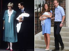 """The prince said the couple is still """"working on a name,"""" assuring the crowd the couple would have one """"as soon as we can."""" Prince Charles and Princess Diana took a week to announce Will's name."""