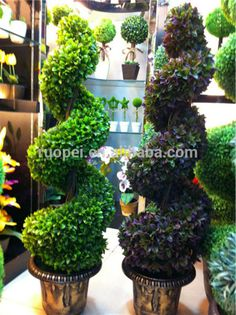 Topiary Spiral Tree Tree Artificial Topiary