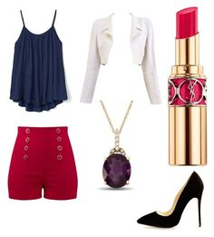 """""""Untitled #33"""" by maraciupa on Polyvore featuring Chanel, Gap and Yves Saint Laurent"""