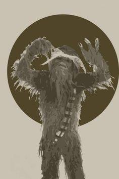 Star Wars Chewpac Print