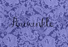 Periwinkle is a color in the blue and purple family...... sometimes also called Lavender blue...
