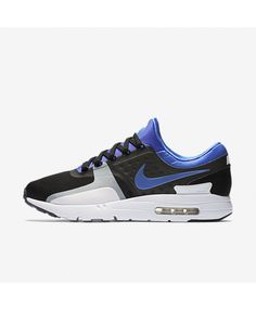 2d51c5d089db2 Nike Air Max Zero Black White Persian Violet Unisex Shoes Outlet Cheap Nike  Air Max