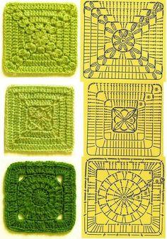 graficos de porta copos quadrados de croche7