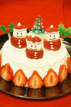炊飯器でつくるサンタさんケーキ