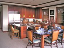 Kolea Villa 12B is a luxurious Ocean View villa in Waikoloa Beach Resort on the Big Island of Hawaii.  Amazing gourmet kitchen, spacious bedrooms, steps from the beach and beach club.