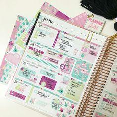 Bloom Planner, Time Planner, Planner Layout, Goals Planner, Planner Pages, Planner Ideas, Happy Planner, 2018 Planner, Planner Organization