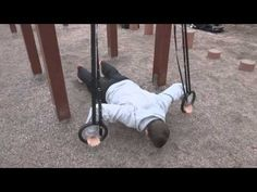 Gymnastic Rings PushUps Variation for Building Upper Body Strength